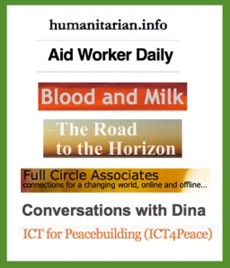 humanitarian blogs