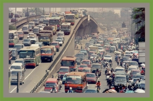 "Jakarta, from ""The world's 20 cities with the worst traffic jams"""